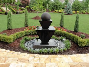 Add Character with Statuary from the Rosehill Garden Center